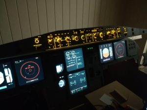 Jeehell FMGS in my A320 home cockpit