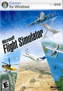 Microsoft FSX DVD Logo , source: https://en.wikipedia.org/wiki/Microsoft_Flight_Simulator_X#/media/File:FSX_Cover.jpg